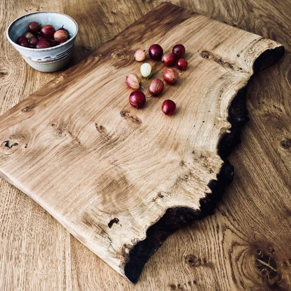 Live Edge Rustic Wood Board