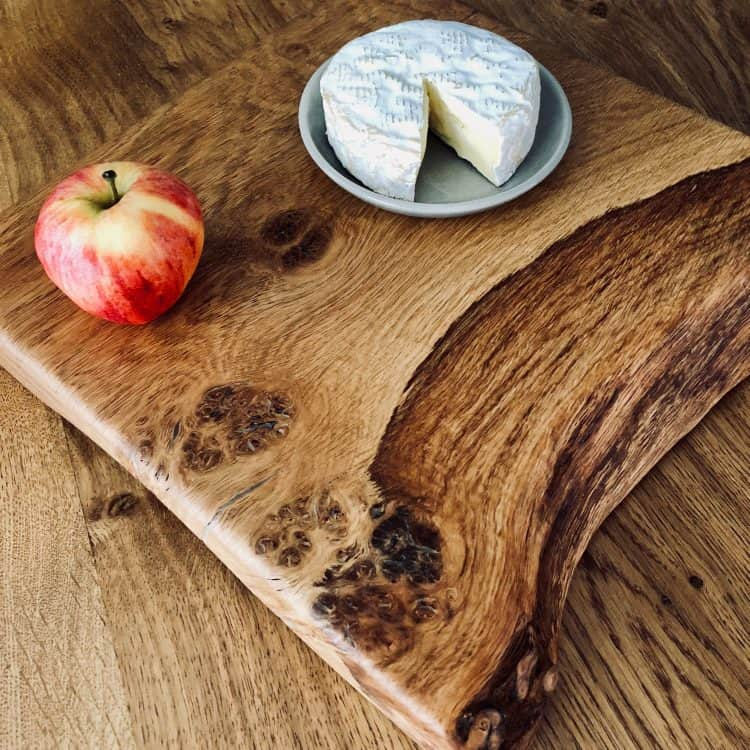 Rustic Wood Serving Board