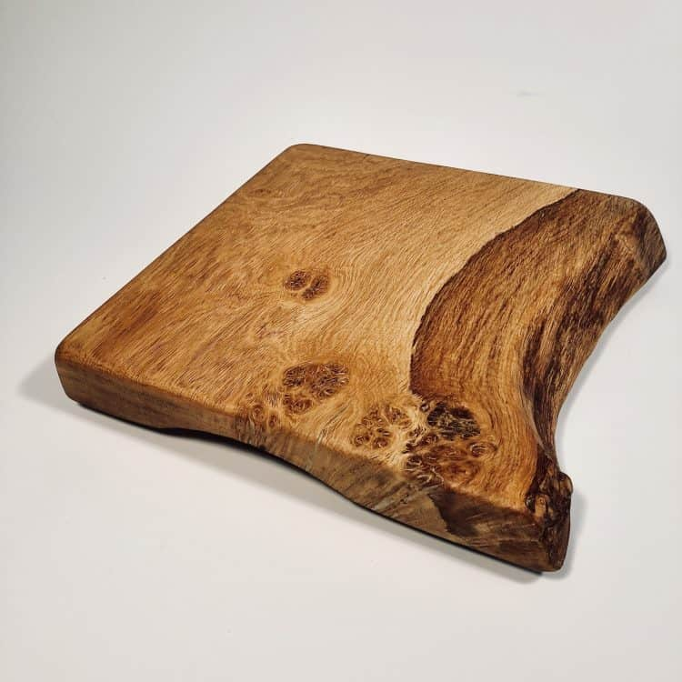 Rustic Wood Serving Board main
