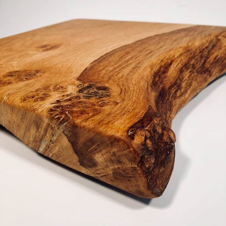 Rustic Wood Serving Board rhs