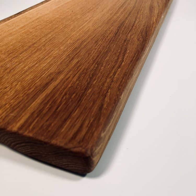 Solid Wood Serving Platter corner