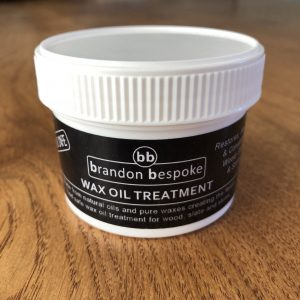 Food safe wax oil treatment for wood